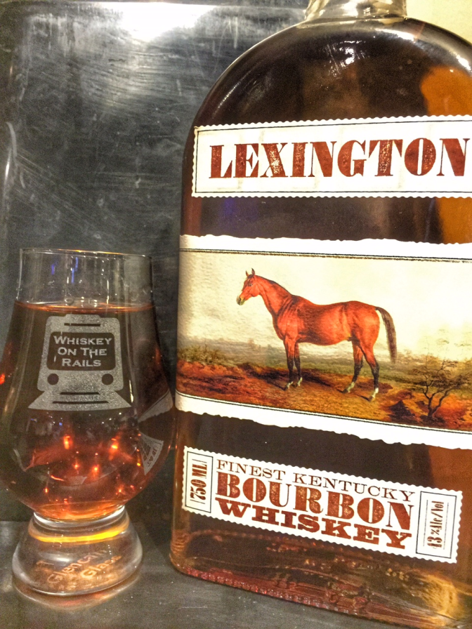 Down The Stretch They Come With Lexington Bourbon Whiskey